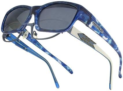 f30018823719 Amazon.com  Coolaroo JP Fitovers - Blue Blast - Grey Lens (CL001 ...