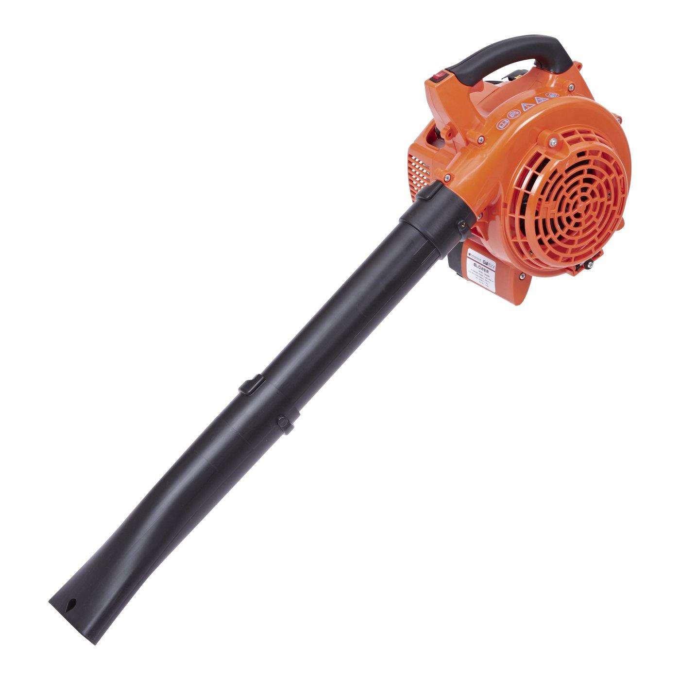 Trueshopping 26cc Petrol Leaf Blower Garden Cordless Vac Cleaner Vacuum Powerful Hand Held 0.75KW