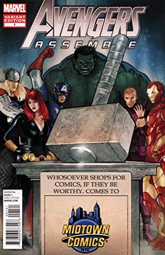 Amazon.com: Avengers Assemble (4th Series) #1D (4th) FN ...
