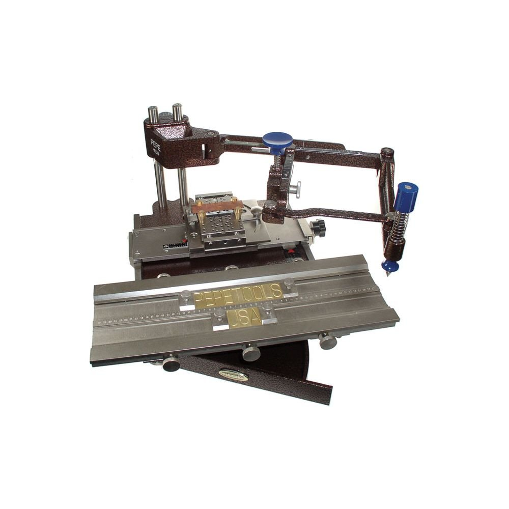 Pepe Double Font Table Engraving Machine with Single Line Block Font