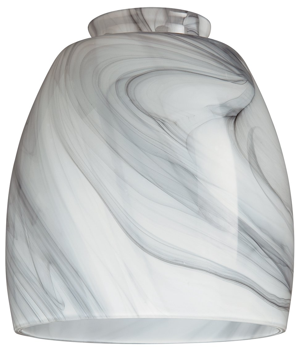 Westinghouse 8140900 2-1/4'' Charcoal Swirl Lamp Shade by Westinghouse