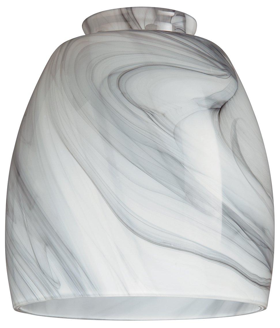Westinghouse 8140900 2-1/4'' Charcoal Swirl Lamp Shade