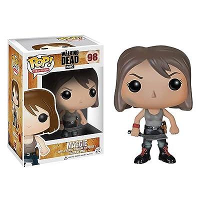 Funko POP! Television: The Walking Dead Series 4 Maggie Action Figure: Funko Pop! Television: Toys & Games