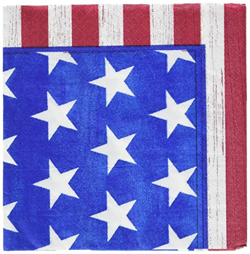 American Party Beverage Napkins, 100 Ct. -
