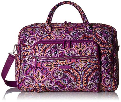 - Vera Bradley Iconic Weekender Travel Bag, Signature Cotton, Dream Tapestry