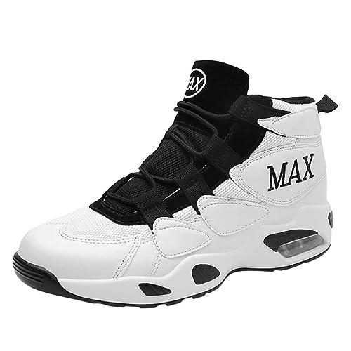 Poamen - Zapatillas de Baloncesto para Parejas, con tecnología de ...