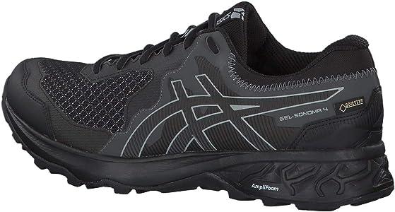 Asics Gel-Sonoma 4 G-TX 1011a210-001, Zapatillas de Entrenamiento para Hombre, Negro (Black 1011a210/001), 41 1/2 EU: Amazon.es: Zapatos y complementos