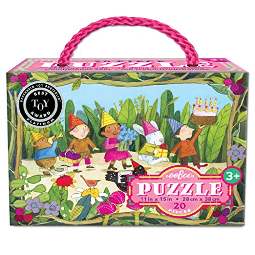 eeBoo Birthday Parade Puzzle, 20 pieces