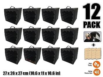 Acepunch 12 Piezas Micrófono Sonar Aislamiento Proteger DIY ...