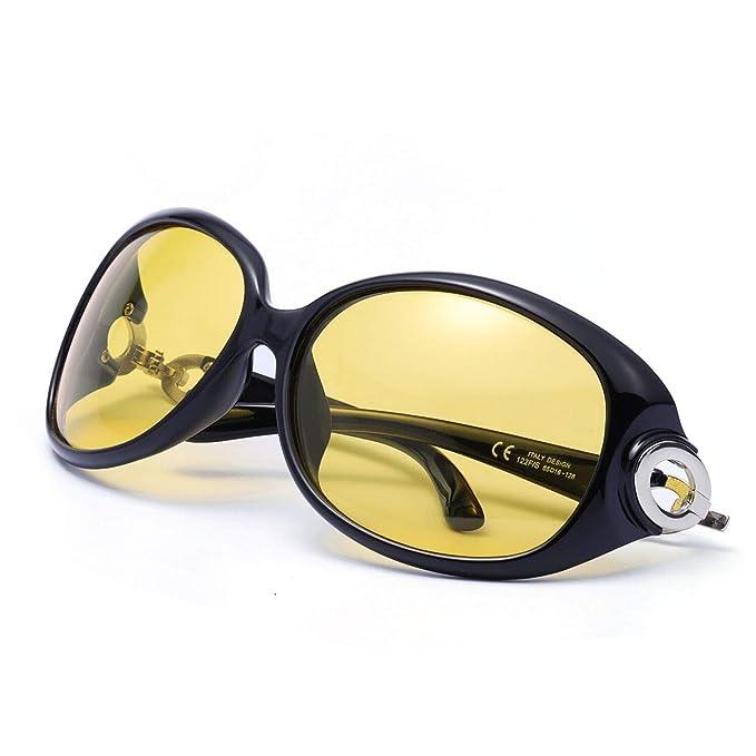 85dff56b1e FIMILU Gafas de Conducción Para la Noche, Gafas de Seguridad Antirreflejos  de Lente Polarizada de