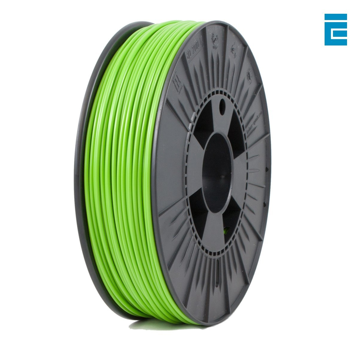 ICE Filaments ICEFIL3PLA012 PLA filament, 2.85mm, 0.75 kg, Gracious Green