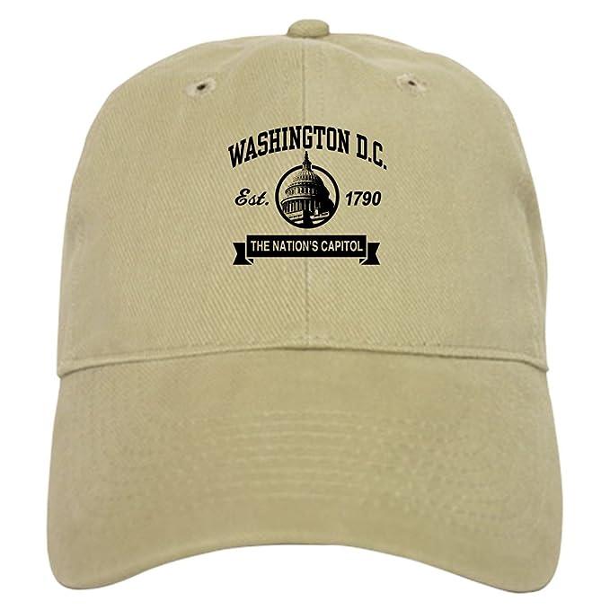 ... clearance cafepress washington dc cap baseball cap with adjustable  closure unique printed baseball hat a8631 81e28 9de24f351
