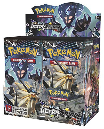 Pokemon TCG Sun & Moon Ultra Prism 36 Pack Booster - Box 36ct Booster