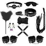 Novelty Clothing Accessory Kit Set of 10pcs BLACK