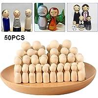Dandelionsky 50 Piezas Kit de muñeca de Madera