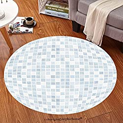 Sophiehome Soft Carpet 335675807 ceramic tile wall or floor bathroom background Anti-skid Carpet Round 24 inches