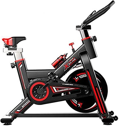 Indoor Spinning Bicycle Ultra Quiet Exercise Bike Home Bicycle Sports Fitness Equipment Aerobics Training Device Can Be Adjusted According To Their Own Black Amazon Co Uk Kitchen Home
