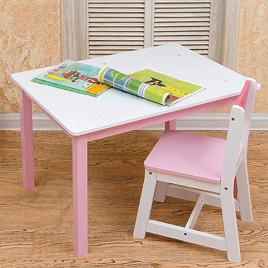 Living Room Furniture Juego de sillas de Mesa de Madera para niños ...