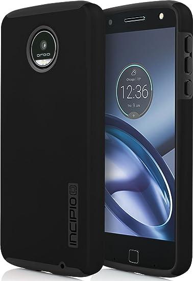 online store e0e69 a9098 Incipio Motorola Moto Z Play Dualpro Case - Black and Black