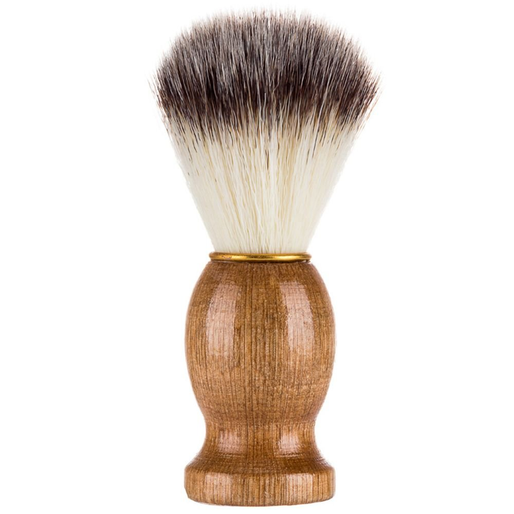 IETONE Men's Shaving Brush Barber Salon Men Facial Beard Cleaning Appliance Shave Tool Razor Brush