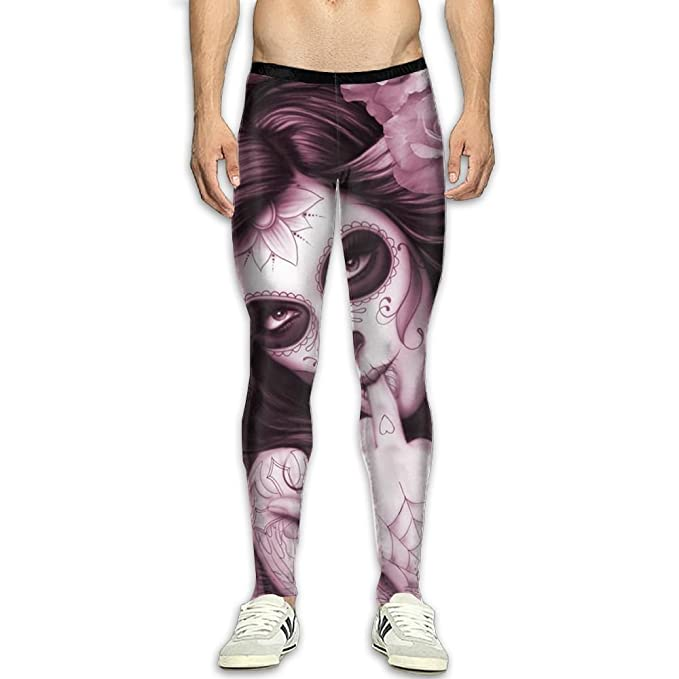 e471dfbac2747 CoolCondi Middle Finger Fitness Compression Pants/Running Tights Workout  Leggings Men Male Tall