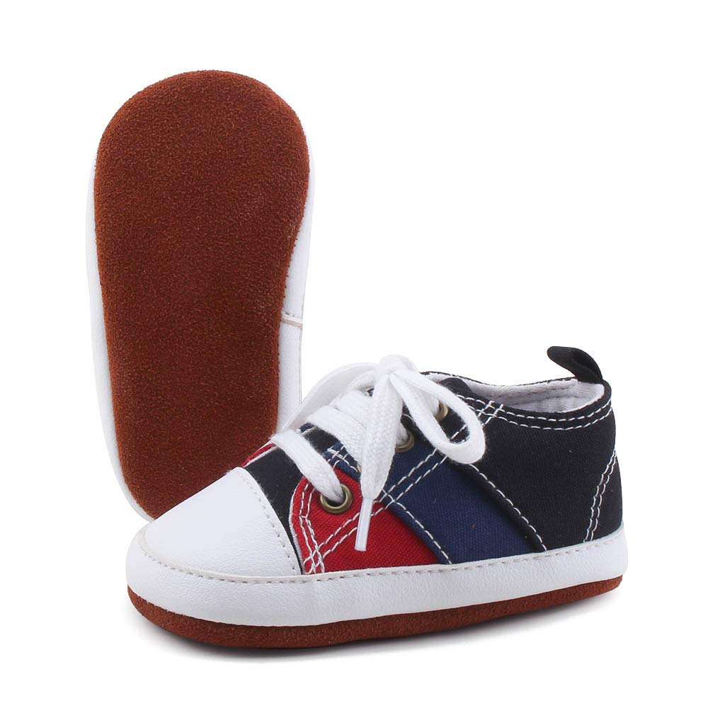 c41c9be2d7ddb OOSAKU Lace up Toddler Sneaker Baby Infant Shoes Boy Girl First Walking