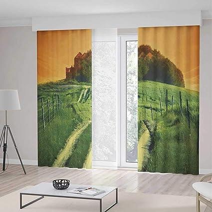 Amazon Com Yoliyana Bedroom Blackout Curtains Tuscan Living