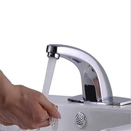 touch rottypup kitchen tap inductive hands free faucet sensor automatic