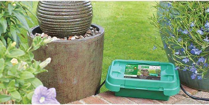 Tragbares automatisches Pflanzgef/ä/ß f/ür den Hausgebrauch Garden Trickle Irrigation Control Valve mit Schalter