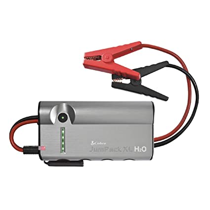 Cobra Jumpackxl Cpp15000 Portable Power Car Jump Starter Battery Charger Power Pack Led Flash Light With Jumper Cables 400 Amp Peak 12 000mah For