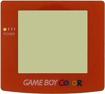 Protective Screen Glass Panel Lens for Nintendo Gameboy Color GBC Change Part (Orange)