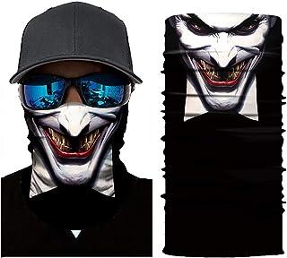 JoyFan Maschere ciclistiche Sciarpa capa Joker Mascherina del Reticolo del Cranio Scaldino del Collo