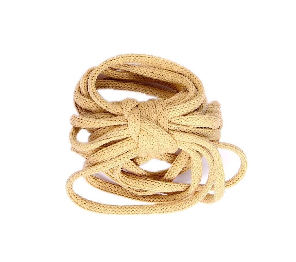 Laces Drawstrings Ninepeak Drawstring Cord 3//16 Round, Khaki and Handles 10 Yards