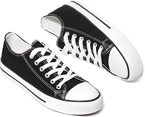 White Tennis Shoes Low Top Casual Shoes