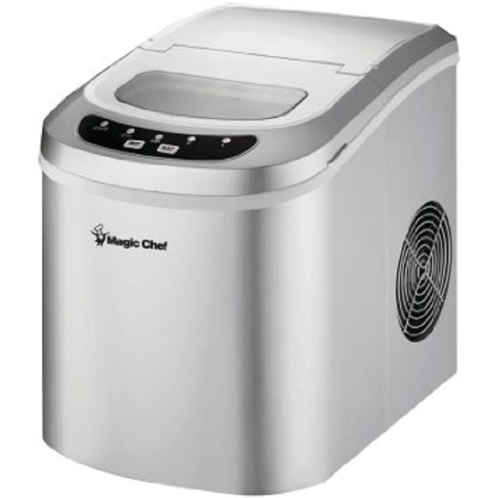Pebble Ice Machine Amazoncom Magic Chef Portable Countertop Ice Maker Display