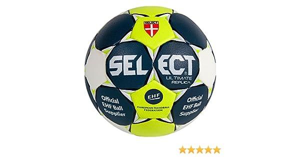 Select Handball Ultimate Replica - Balón de balonmano azul ...