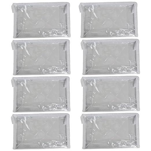Amazon.com: Transparente bolsa de cosméticos bolsa de viaje ...