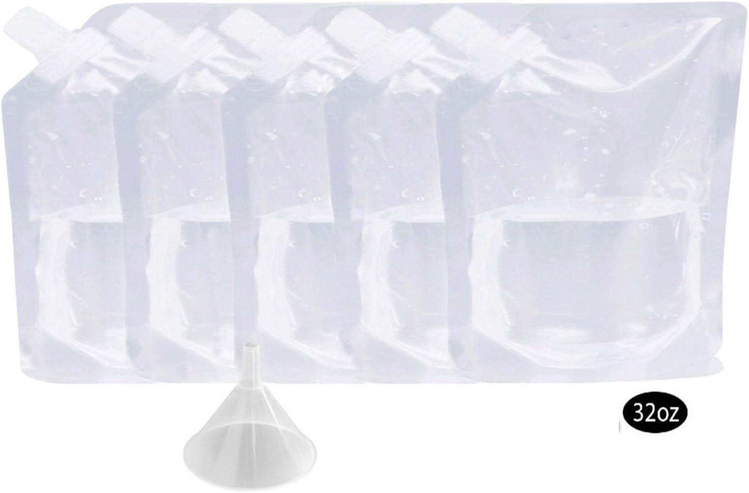 foucomeカクテルキャディクルーズLiquorバッグキットfor alcohol-再利用可能な& concealable Liquorバッグ1 x 32oz + Funne含ま 20180403010