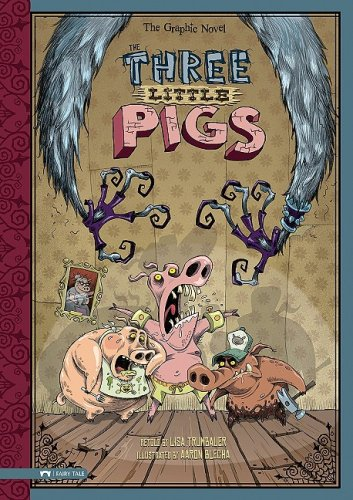 Read Online The Three Little Pigs: The Graphic Novel (Graphic Spin) pdf