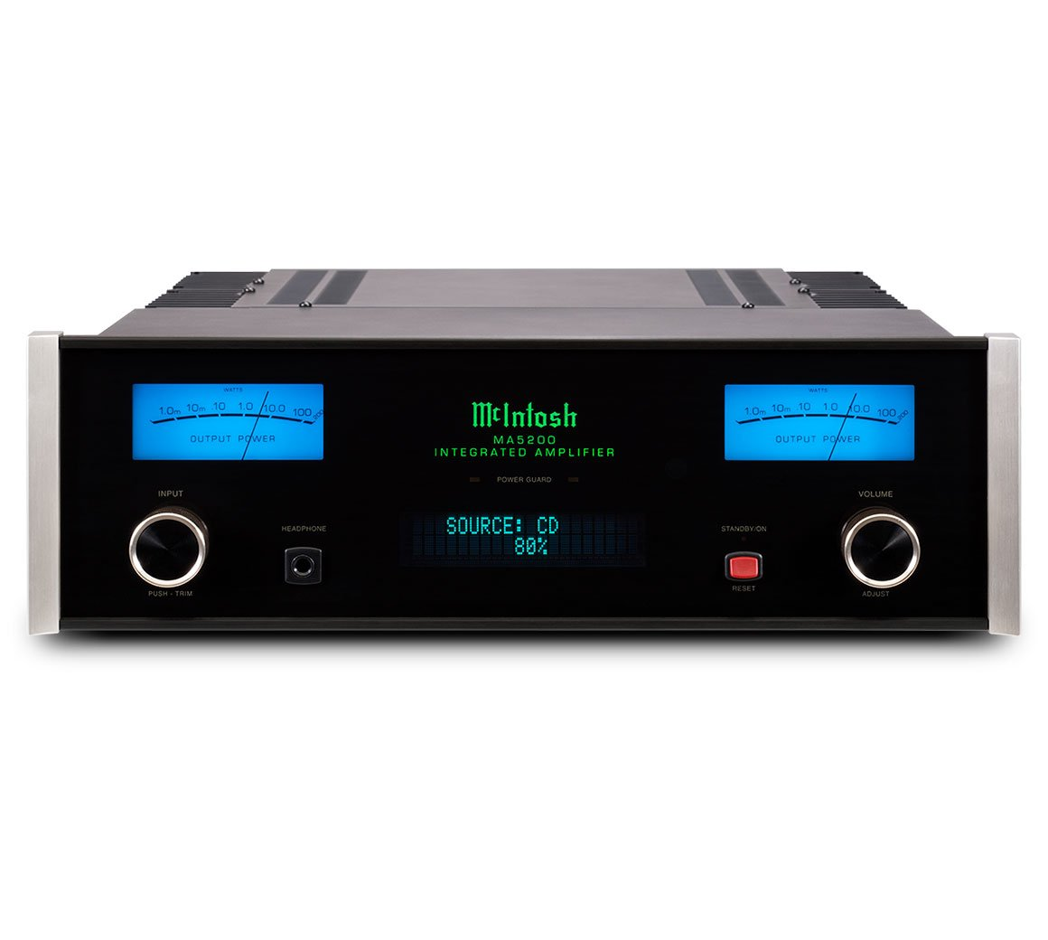 Mcintosh Labs Ma5200 Stereo Integrated Amplifier Subaru Wiring Electronics