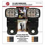 hoover task - Hoover 12-LED Wireless Motion Activated Indoor Task/Night Light, 2 Pack