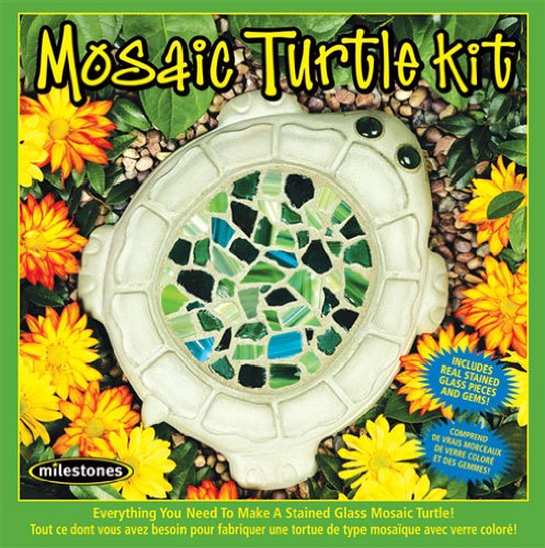 Midwest Products Mosaic Turtle Stepping Stone Kit