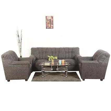Roman Living Hastings 5 Seater Sofa Pack (Grey)