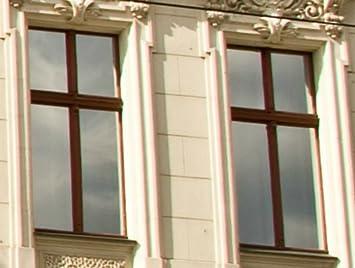 PANZERFILM Spiegelfolie Fenster, verspiegelte Fensterfolie 0,76 x 2,20 m,  gegen Hitze, UV - Sonnenschutz, Sonnenschutzfolie, selbstklebend, ...