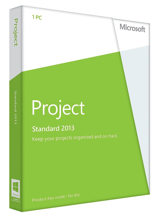Microsoft Project 2013 Key Card (No Disc)