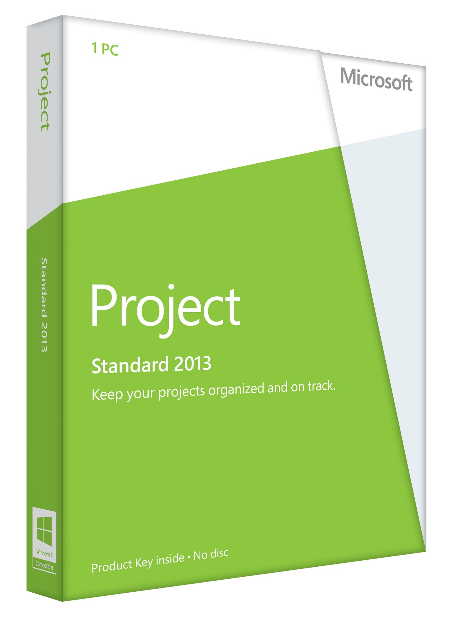 Microsoft Project 2013  Key Card (No Disc) by Microsoft