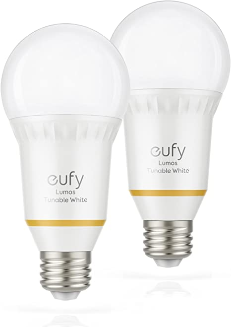 Eufy Lumos Smart Bulb By Anker Tunable White Soft White To Daylight 2700k 6500k 9w Works With Amazon Alexa No Hub Required Wi Fi 60w