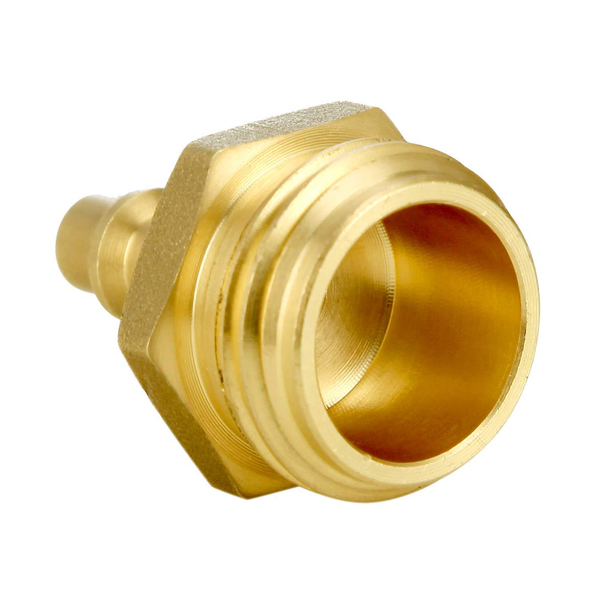 Water Blowout Quick Connect Plug Fittings for Air Compressor quick connection Plug RV and Camper Winterizing Blowout Plug Blowout to Winterize Boats Motorhomes / For 3//4-11NH Lead Free Garden Faucet