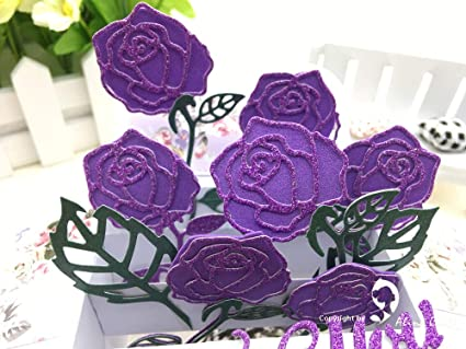 Amazon craft dies mcdies metal dies metal cutting dies rose craft dies mcdies metal dies metal cutting dies rose flower love romantic wedding valentine craft card mightylinksfo