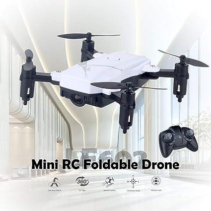 WOSYEYO LF602 Mini RC 2.4G - Dron cuadricóptero teledirigido ...